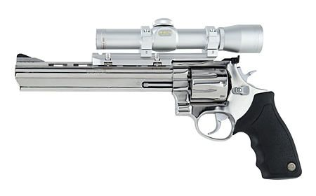 Taurus 608, which is their  357 8-shot revolver  I'd prefer