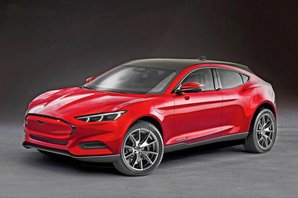 New Ford Mustang Mach E Details And Gallery New Ford Mustang