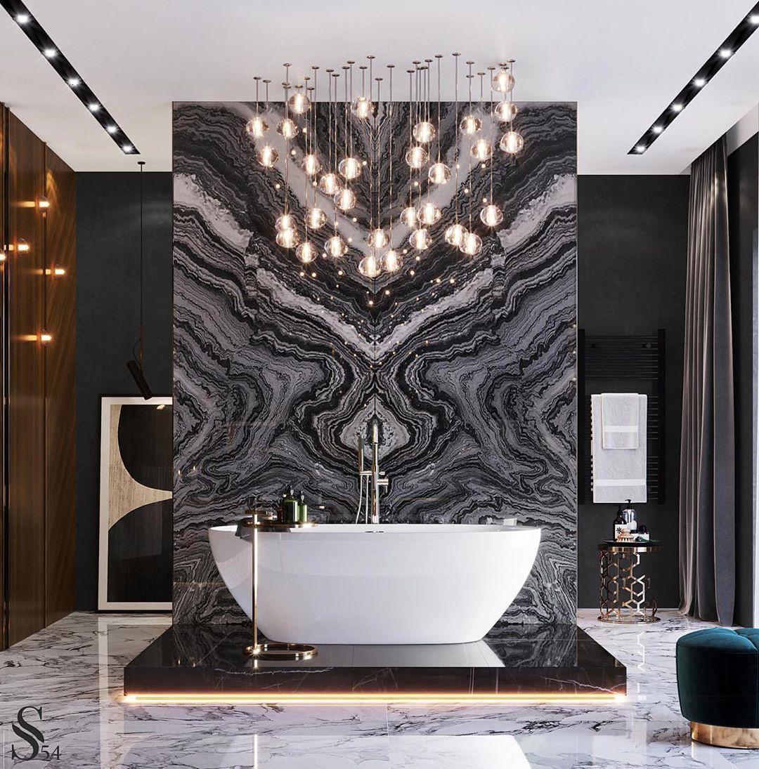 The Luxury Interior On Instagram Via Formatdesignstore Bathroom Design At Its Finest In 2020 Bathroom Design Luxury Beautiful Bathrooms Industrial Style Bathroom