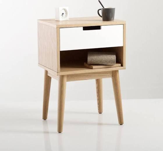 table de nuit vintage table de nuit table de chevet. Black Bedroom Furniture Sets. Home Design Ideas