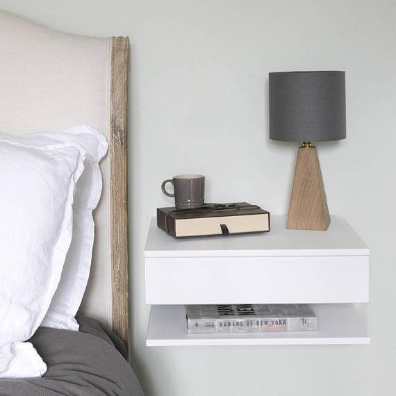Floating Bedside Table Large In 2018 Schlafen Pinterest