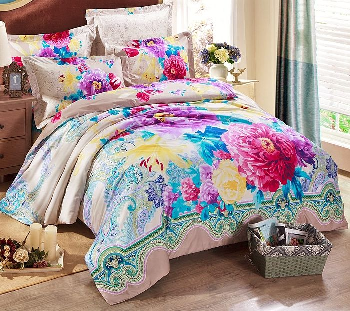 Pin By Sharlean Mckee On A Bed Sets N Bedrooms 2 Quilted Duvet Bed Sizes Print Bedding