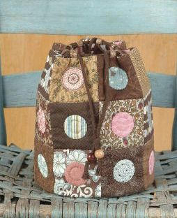 Sweet Delight Drawstring Tote Pattern IJ-129e (instant download)