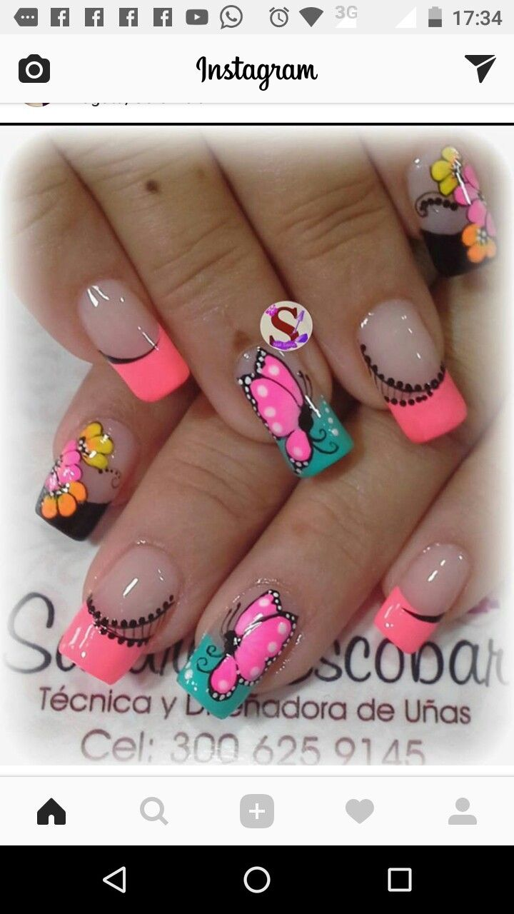 Pin by julieth viviana on uñas pinterest