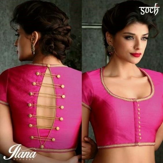 40 blouse back neck designs you have to check out this Indian wedding season!