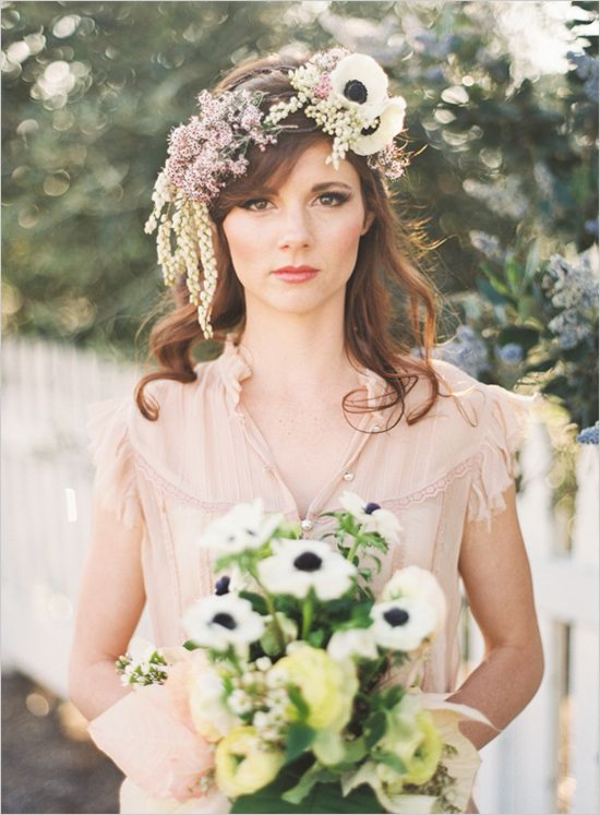 17 Best Images About Floral Crowns On Pinterest