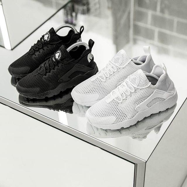 gros rabais Commerce à vendre Nike Huarache Triple Ukc De Réapprovisionner Noir mQhZa352T