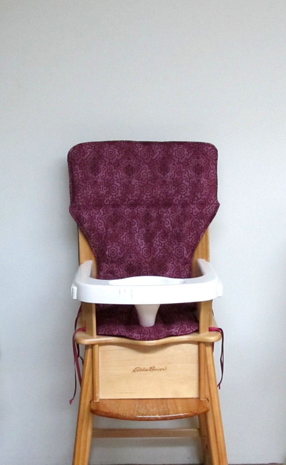 Replacement Cotton Fabric High Chair Pad Highchair Cover Eddie