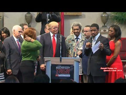 9 21 16 Full Event Donald Trump Meeting At Church In Cleveland