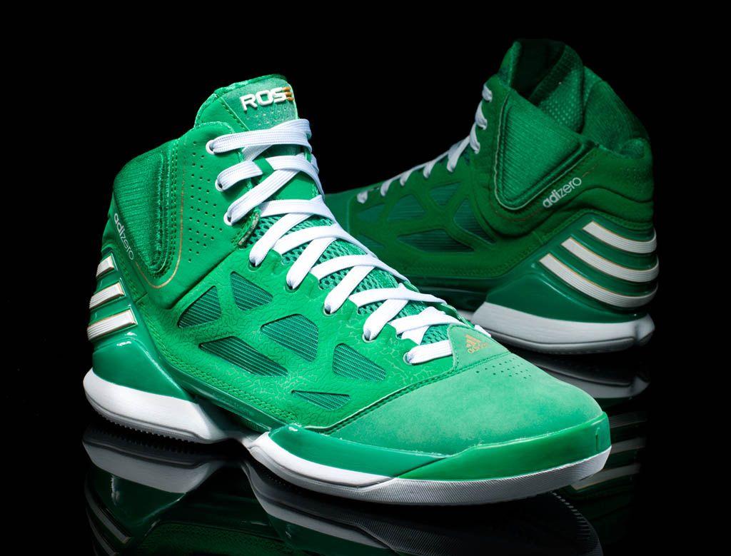 d796c3a1df4 adidas adiZero Rose 2.5 St. Patrick s Day St. Paddys