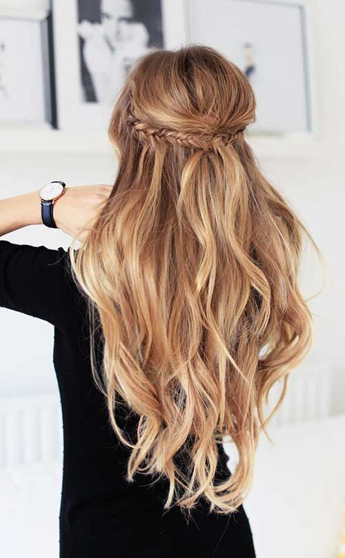 long hair styles brunette 44 hairstyle ideas to try now 2704 | 1d888ea2704a2a6cc6c301d05a6831dd