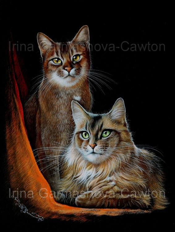 Friends by Irina Garmashova-Cawton
