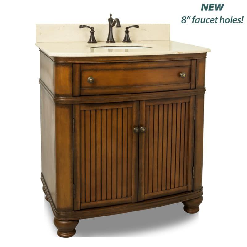 Elements VAN029-T-MC Compton Collection 32 Inch Single Sink Bathroom