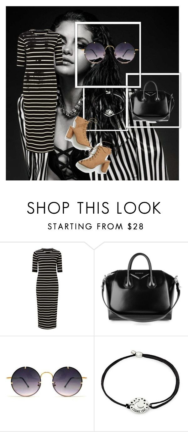 """""""listras"""" by s2sarahlima on Polyvore featuring moda, Sugarhill Boutique, Givenchy, Spitfire, Alex and Ani, beautiful e blackandwhite"""