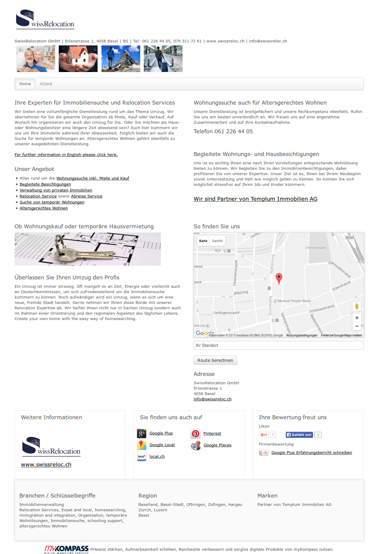 Swissrelocation Gmbh Basel Immobilienverwaltung Relocation Services Expat And Local Immobilien Verwaltung Vermietung