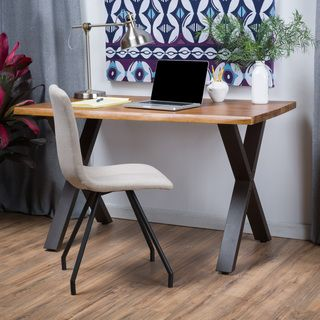 Christopher Knight Home Jedidiah Acacia Wood Computer Desk Ping The Best