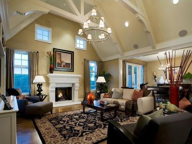 Traditional Bathrooms From Lauren Jacobsen Designers Portfolio 4531 Home High Ceiling Living Room Home Tan Living Room