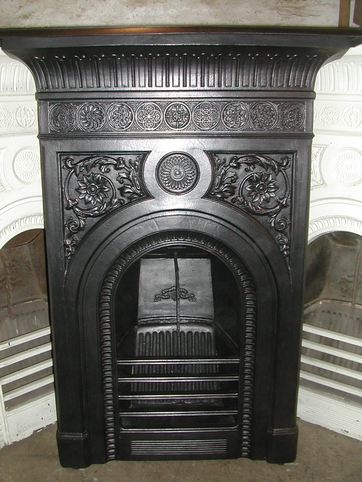 victorian cast iron fireplace by barnard bishop barnard ebay