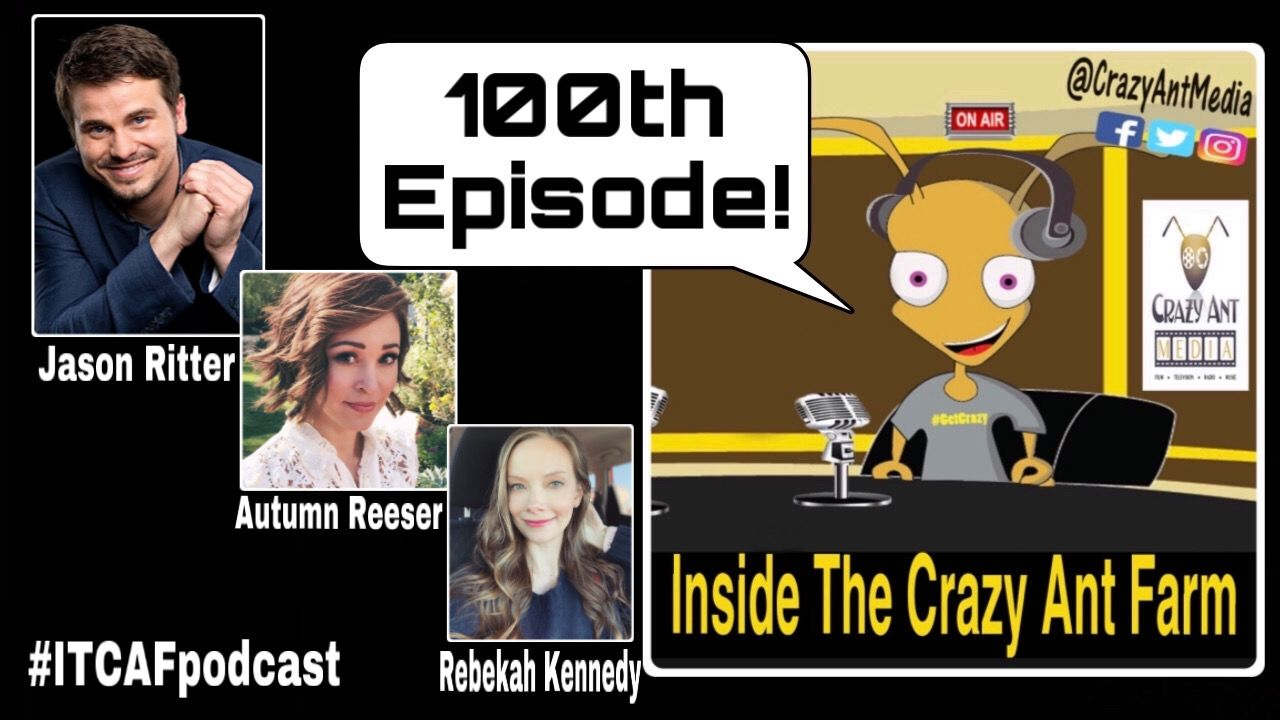 OUR HUGE 100TH EPISODE OF ITCAFpodcast with our special