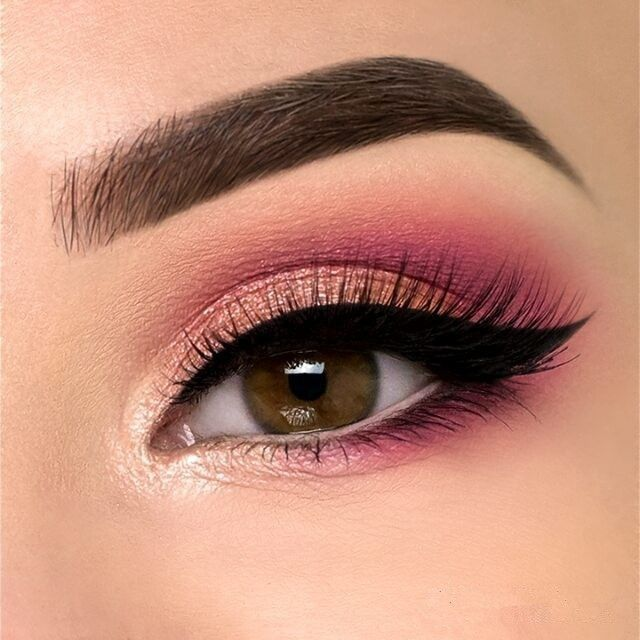 Photo of 35 Trendy Pink Eye Makeup Looks – Explore Dream Discover Blog – #Blog #Discover …