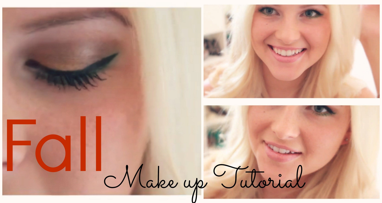 Fall Makeup Tutorial | by BeautyPeachiii ♡
