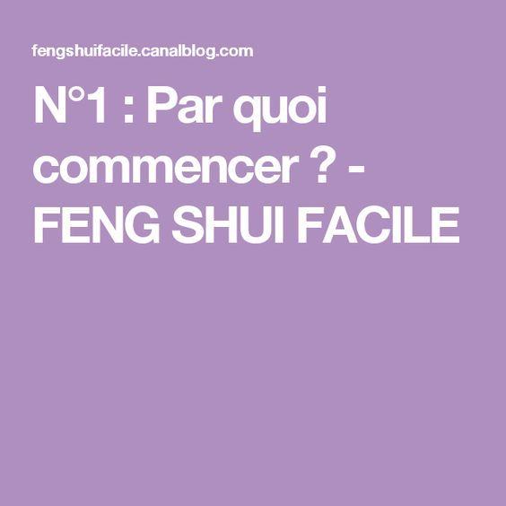 N 1 par quoi commencer feng shui facile feng shui - Couleur hall d entree feng shui ...