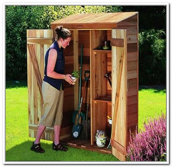Best garden storage shed ideas for the house pinterest for Garden tool storage ideas