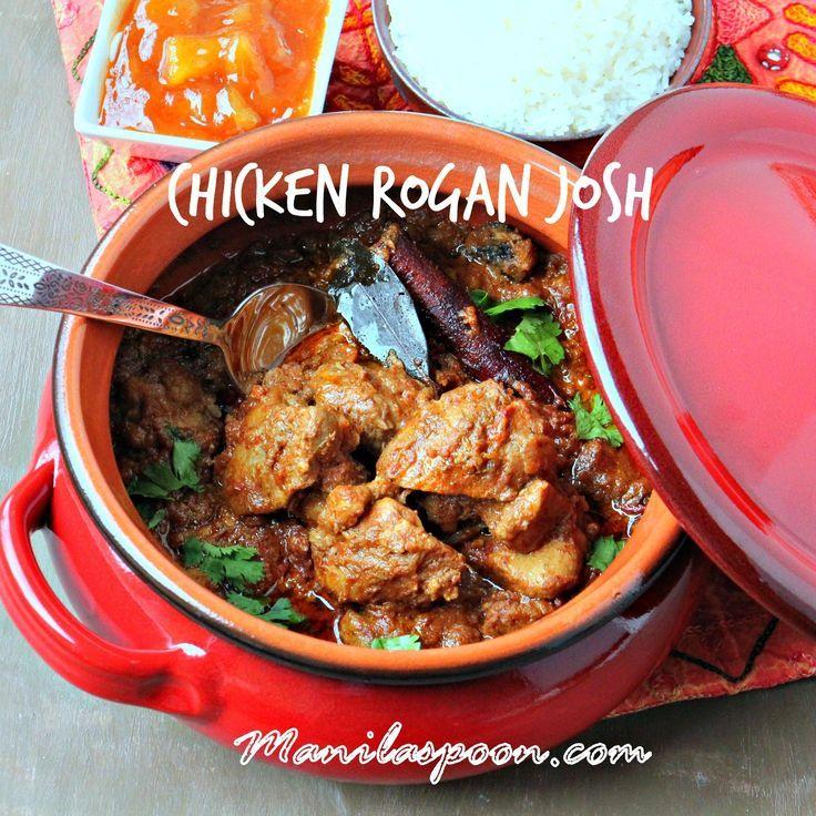 Manila Spoon Chicken Rogan Josh Food Rogan Josh Chicken