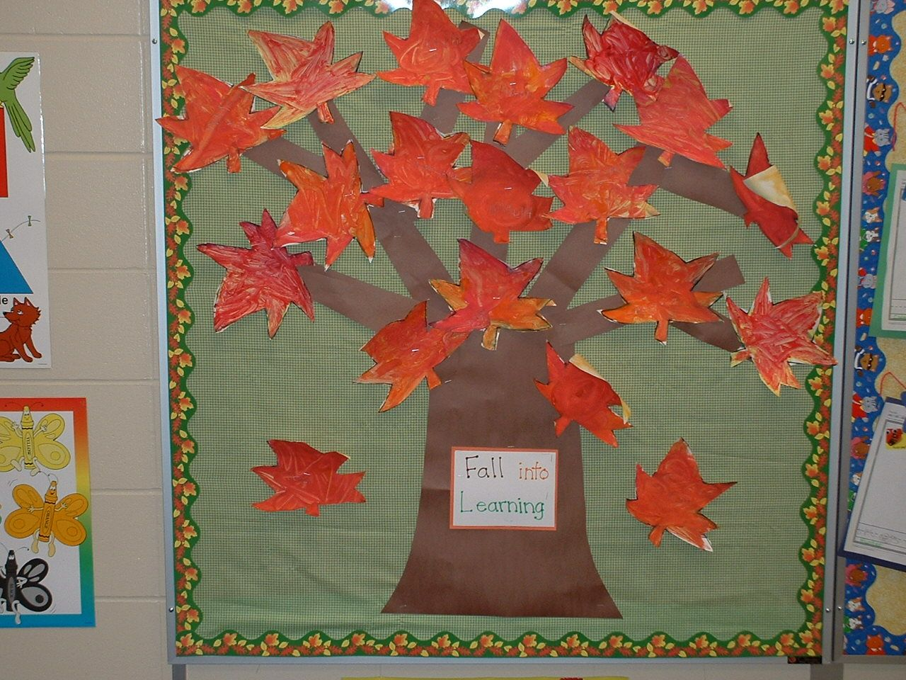 Image detail for bulletin board ideas fall by sven for Fall bulletin board ideas
