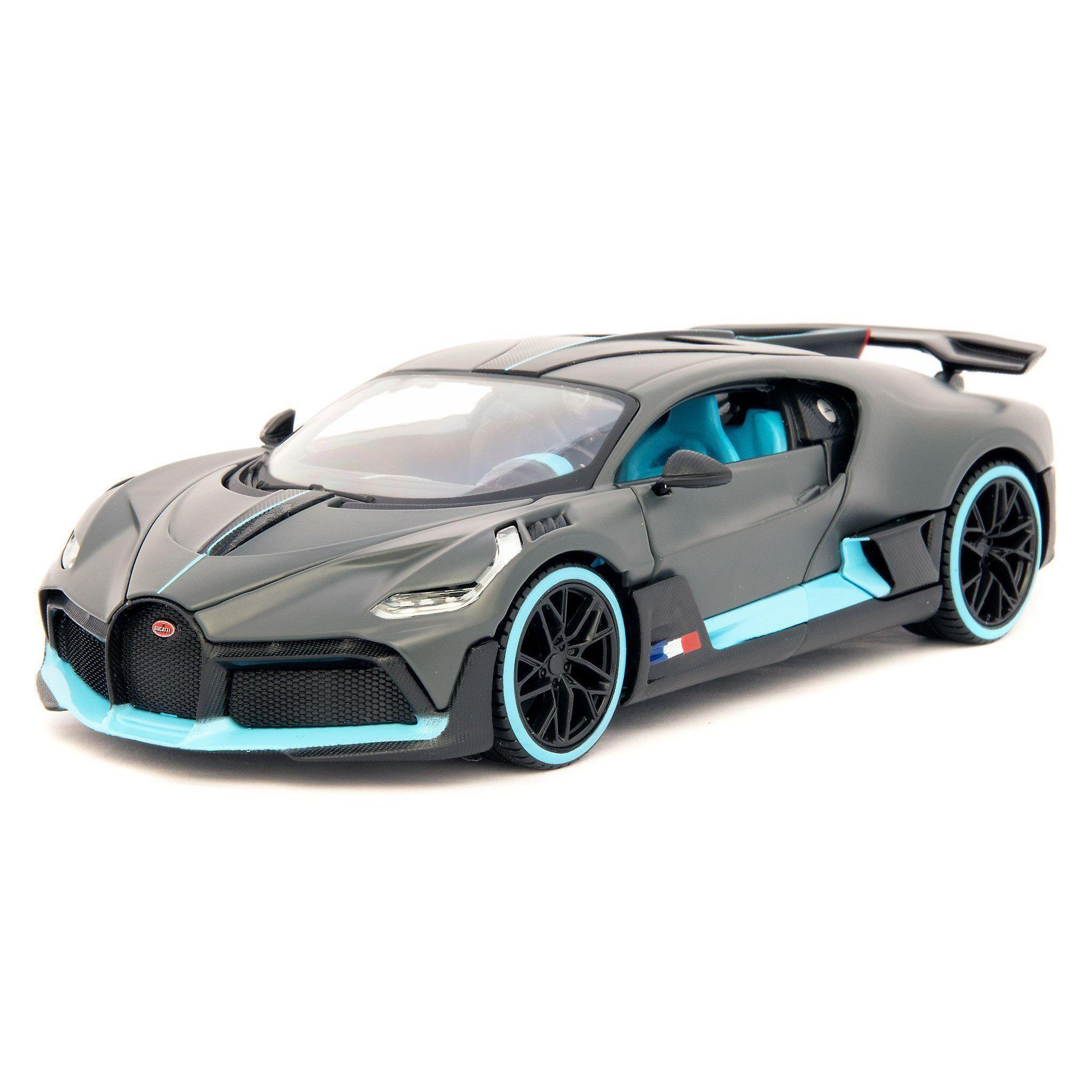 Bugatti Divo Diecast Model Car black 124 Scale
