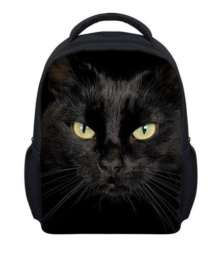 12439aac2b5f 12 inch cute pet cat small backpacks for children shoulder bag kindergarten  baby school bag printing backpack boys girls bagpack