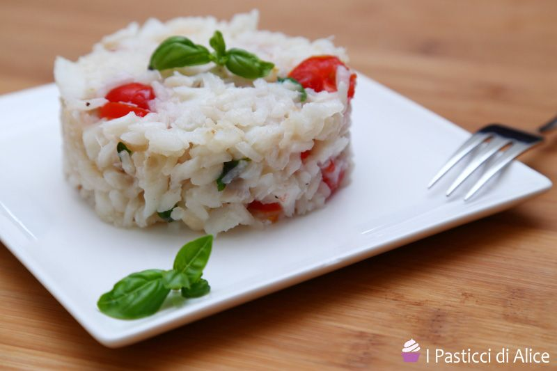 Cod Basil Risotto is a first course very easy to prepare, but it is very tasty! It is a balanced dish, perfect in every occasion!