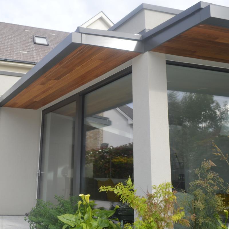 Box Gutter System Seamless Aluminium Uk And Ireland House Roof Design Box Gutter Front Doors Uk