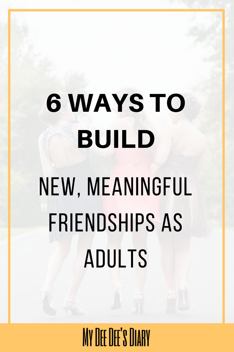 where do adults go to make friends