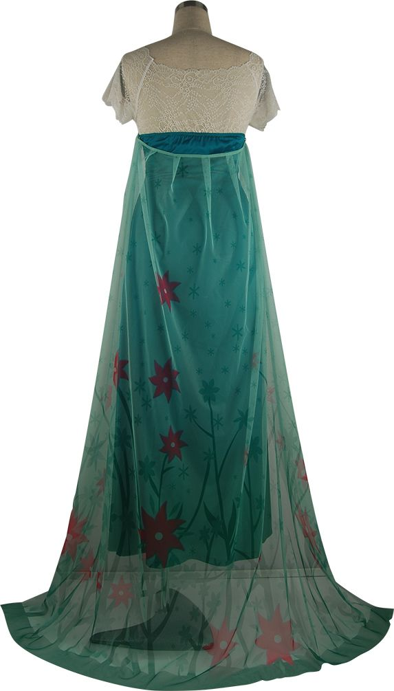 Disney Frozen Fever Elsa cosplay costume xmas christmas gift party prom  ball fancy dress halloween costume