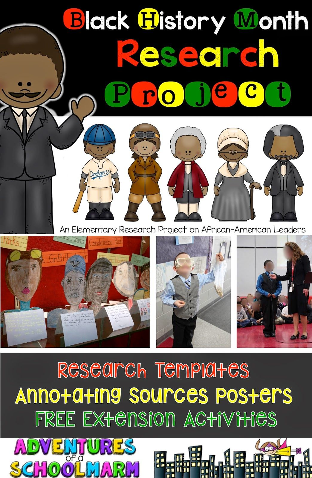 Black History Month Research Projects And More