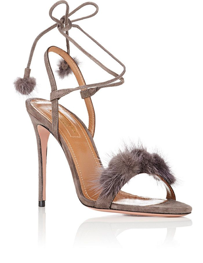 Aquazzura Wild Russian Suede Sandals | Barneys New York
