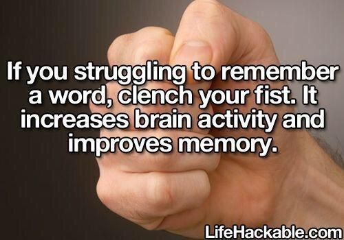 Life Hack for Remembering a Word - #LifeHack, #Memory, #Word