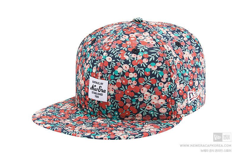 New Era 59fifty Liberty Of London Wiltshir Multi Fitted Baseball Cap Floral New Era 59fifty Fitted Baseball Caps New Era
