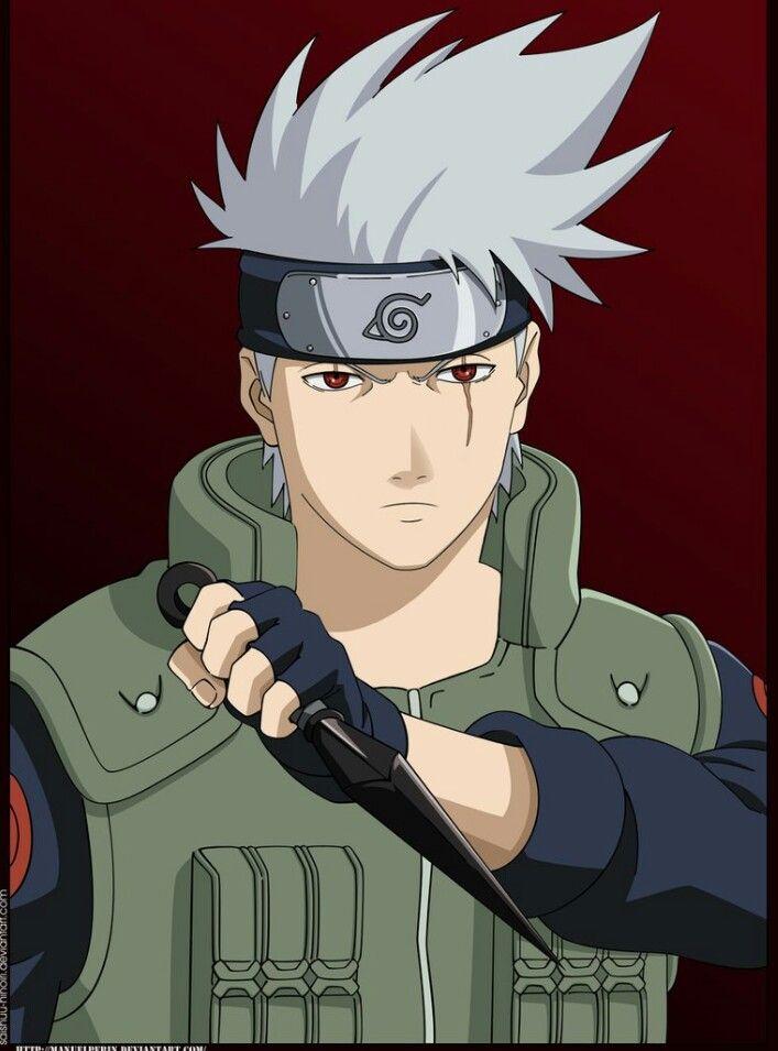 Kakashi without mask | Naruto ( ^-^)ノ∠※。.:*:・'°☆ | Kakashi ...  Kakashi without...