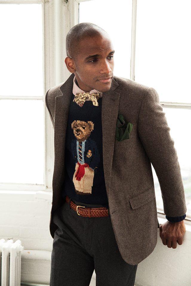 ba78d4a7c19 Vintage Polo Ralph Lauren Bear Sweater
