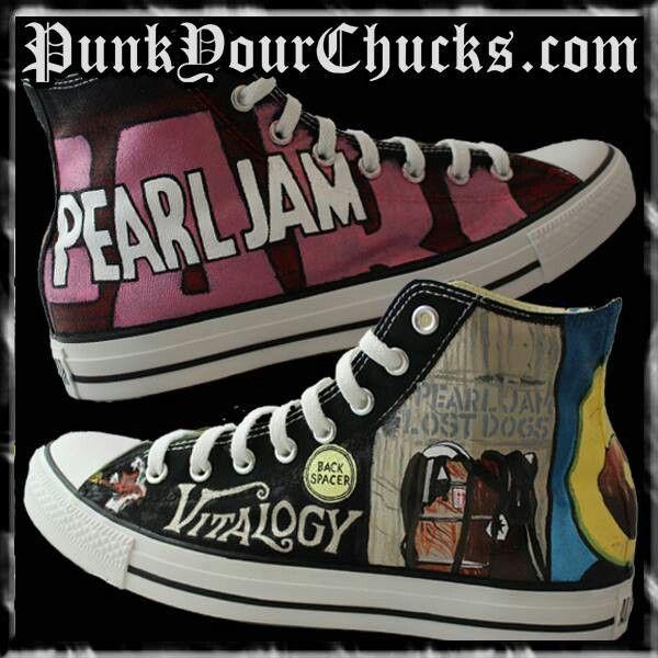 pearl jam vans sneakers