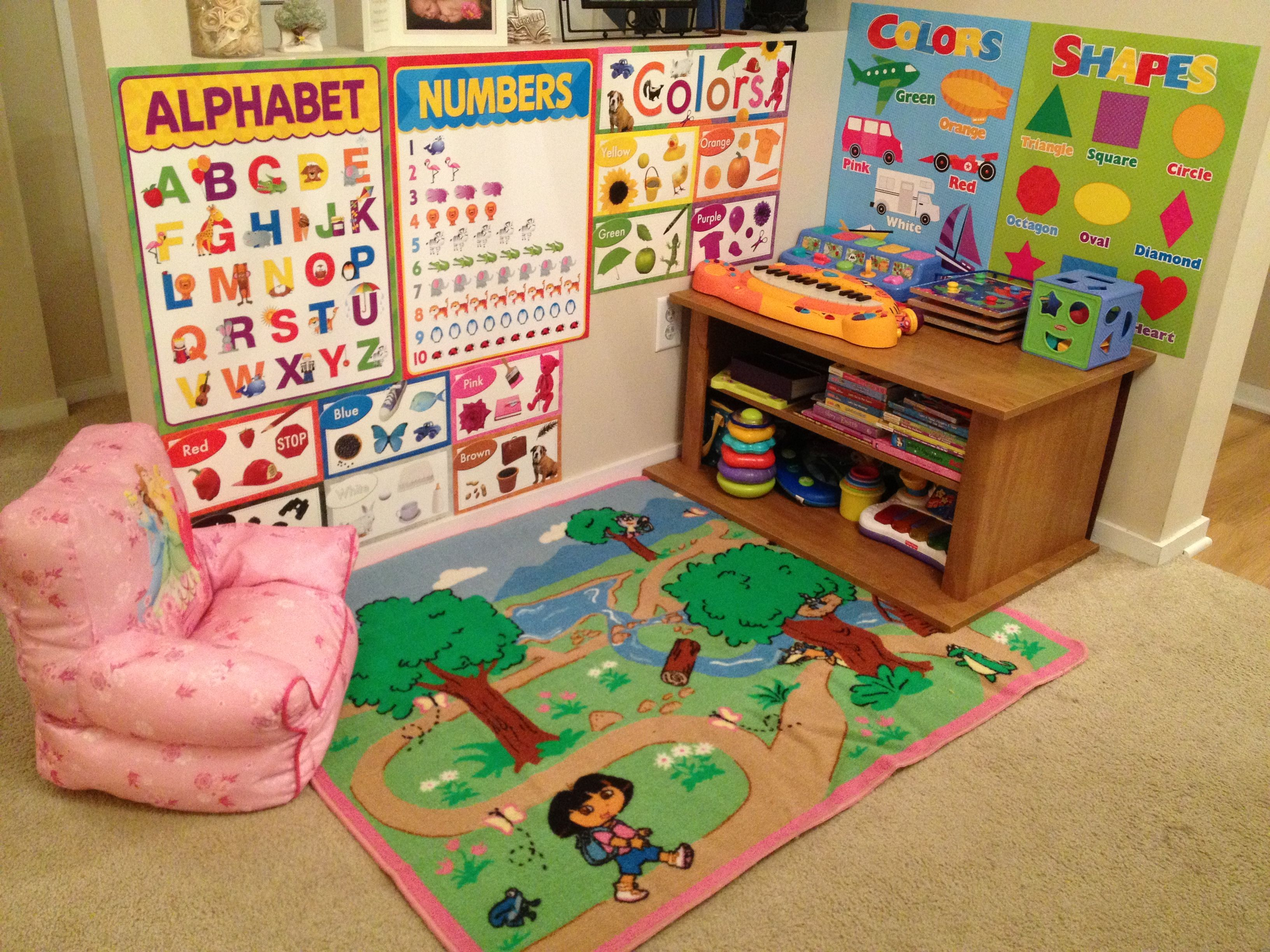 Pin By Lydia Carpenter Belew On Teaching The Kids Toddler Playroom Kids Playroom Toddler Play