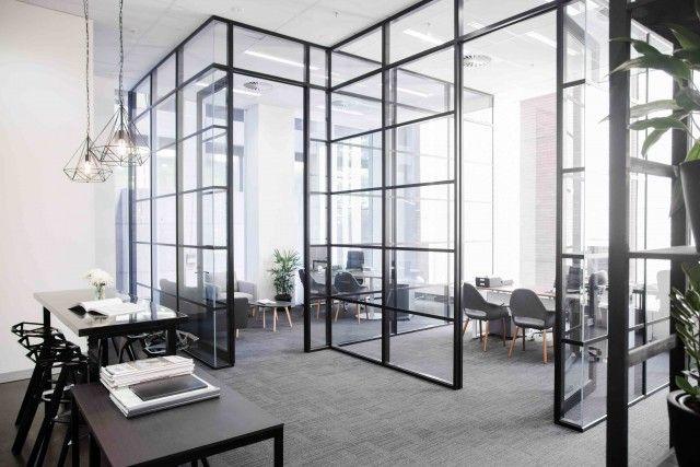New York Studio Style Office Design Trends Industrial Office Design Corporate Office Design