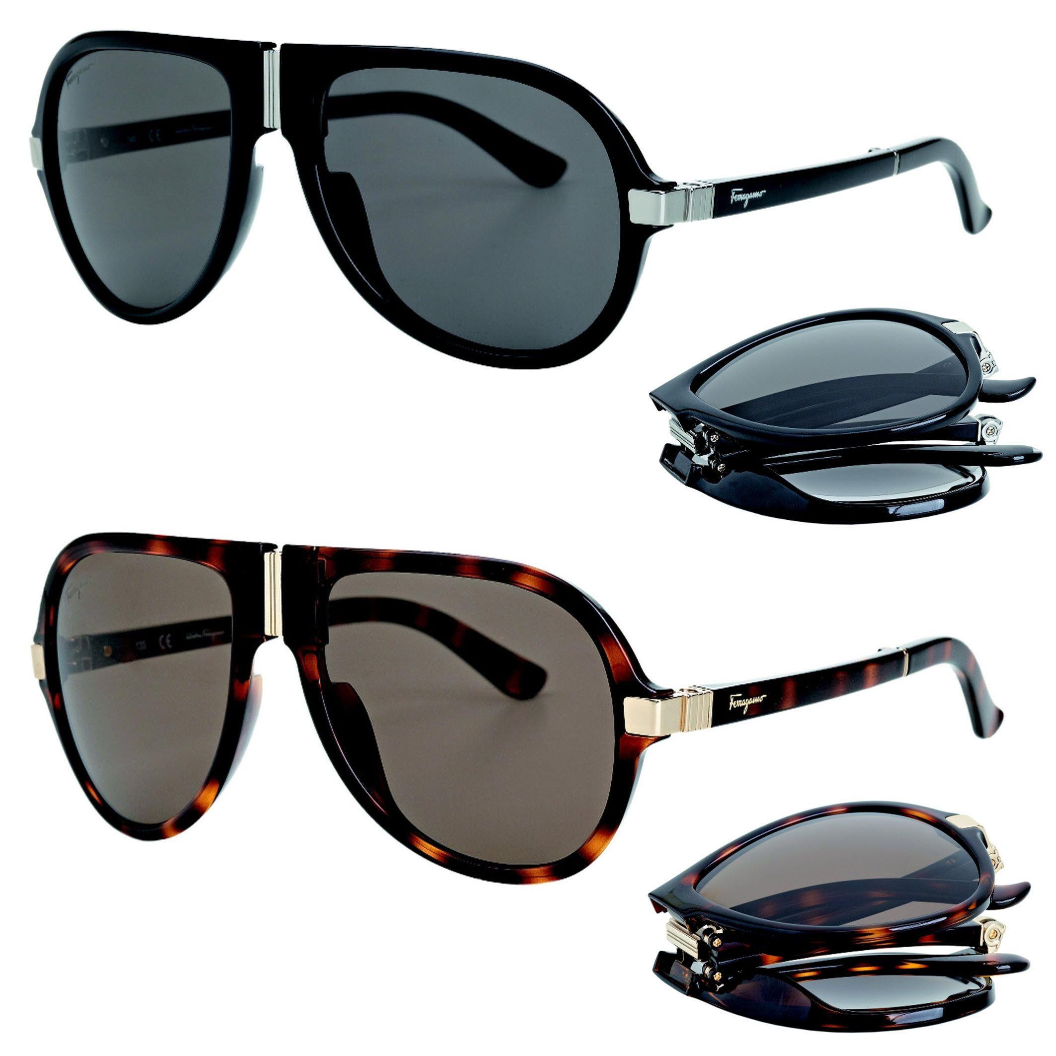 7abbb51d449c Salvatore Ferragamo Folding Sunglasses Spring Summer 2014 | Luxe Men ...