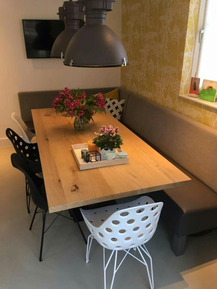 Hoek eetkamer bank | eet hoek meubelmaatwerk Hengelo en IJsselstein ...