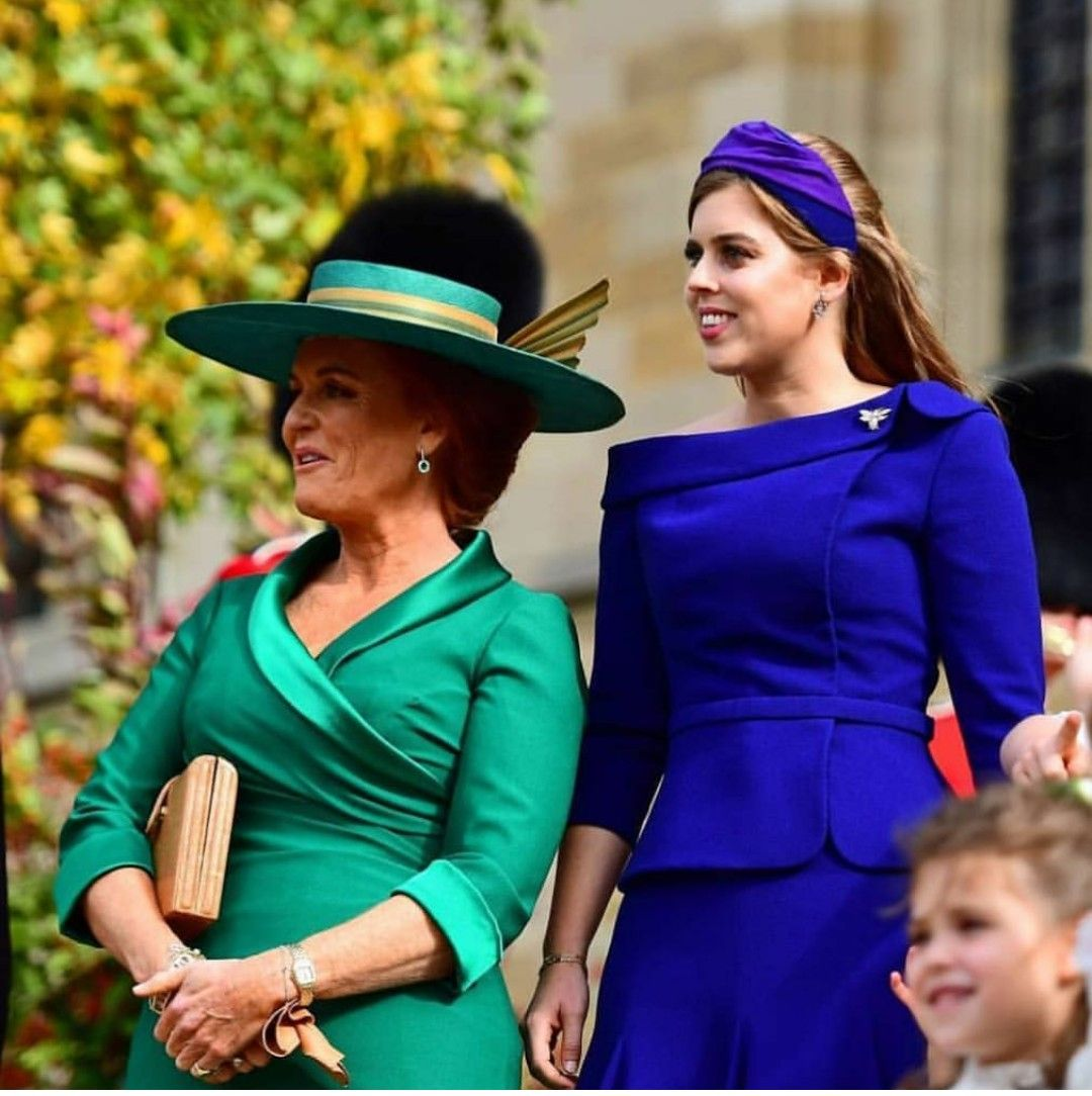 Sarah, Duchess Of York And Daughter Princess Beatrice