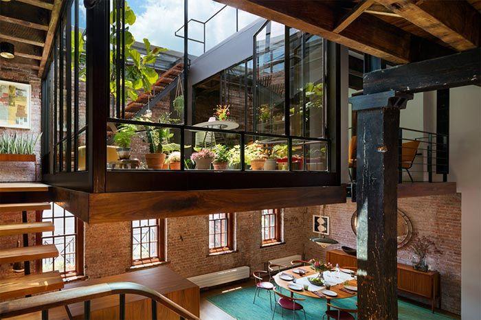 Un Antiguo Almac 233 N Convertido En Loft En Tribeca Con