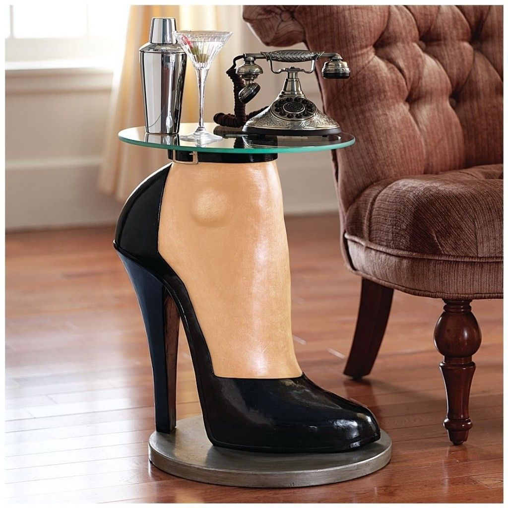 High Heel Shoe Decorative Table