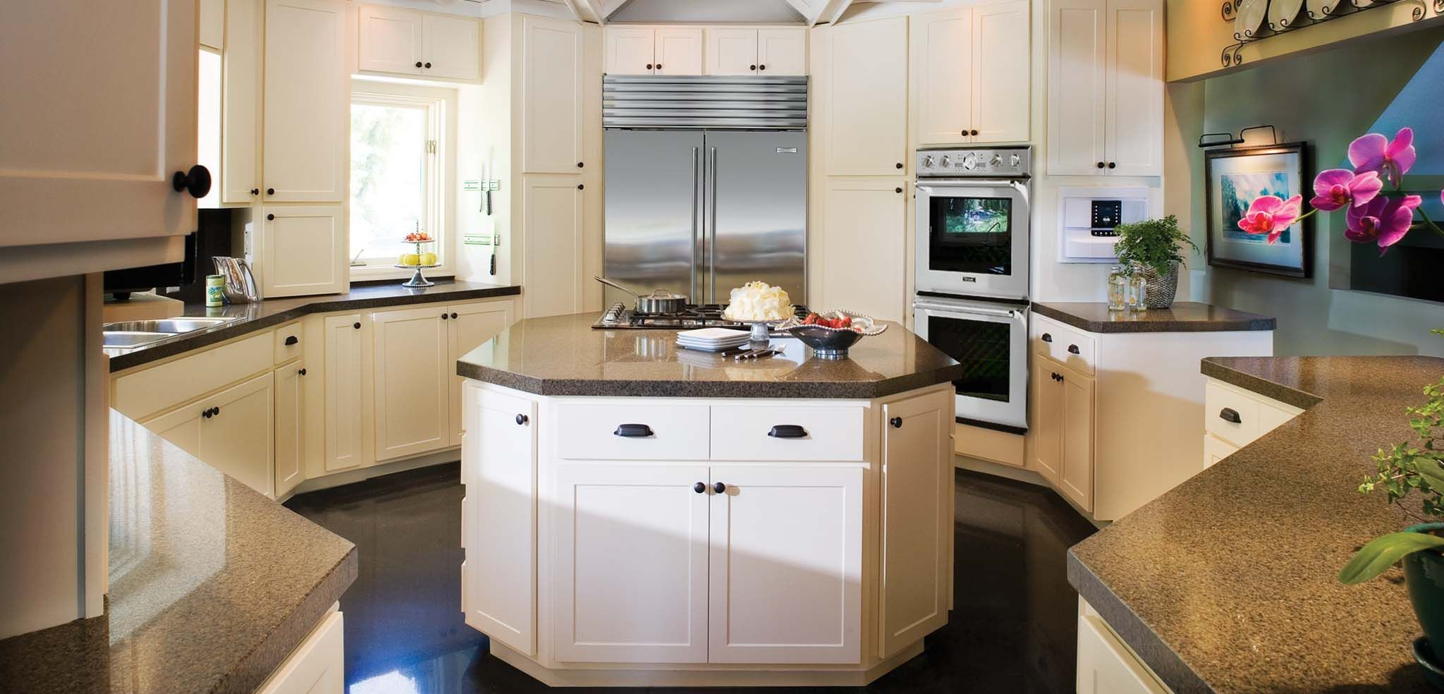 Granite U0026 Quartz Overlay Countertops, Designed To Fit Over Your Existing  Surface. Www.